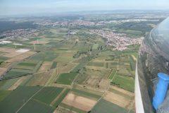 Segelflug_Anflug-auf-Speyer-ueber-Roemerberg